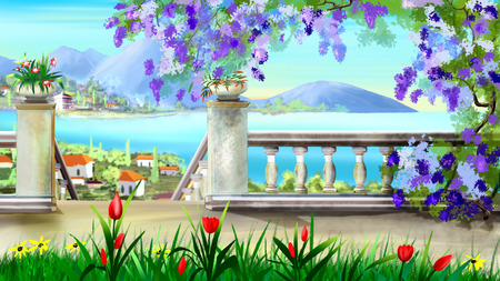 idyll: Access to the Sea in an Ancient City illustration