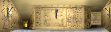 hieroglyphics: egyptian hieroglyphics illustration