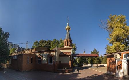 Odessa, Ukraine - 10.03.2018. Church of the Holy Michael located in in Odessa, Ukraine Editorial