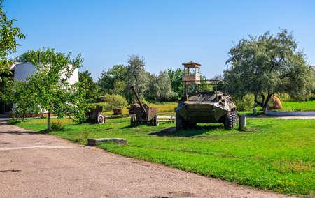 Catacombs memorial and museum of Partisan Glory in Nerubayske village near Odessa, Ukraine