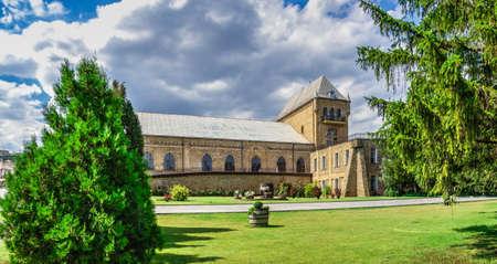 Vesele, Ukraine 07.24.2020. Prince Trubetskoy winery castle in Kherson region, Ukraine, on a sunny summer day Sajtókép