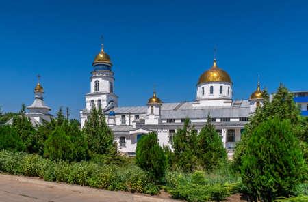 Melitopol, Ukraine 07.24.2020. Saint Sava the Sanctified Monastery in Melitopol on a sunny summer day