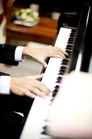 Piano , pianist Stock Photo - 11354336