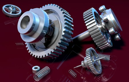 industrial machinery: gear_1