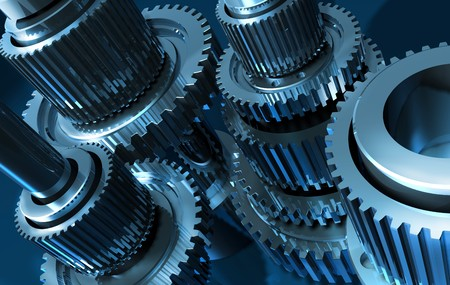 industrial machinery: gear_13 Stock Photo