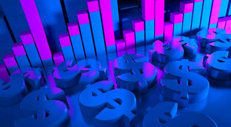 business graphics and Forex indicators photo