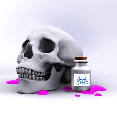 poison bottle: poison