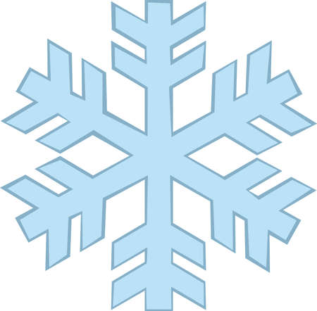 Vector illustration of a frost emoticon