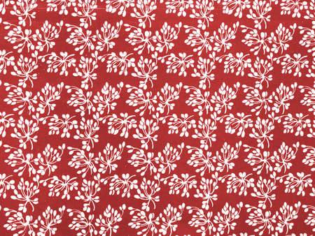 Vintage pattern with floral buds