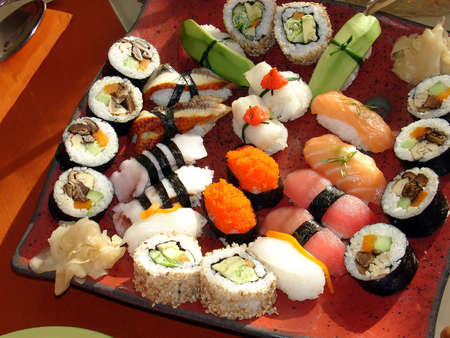 Traditional japanese food                             Reklamní fotografie