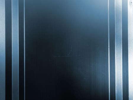 Mill�sime fond de verre, bleu fen�tre avec d�capage, surface granuleuse  Banque d'images