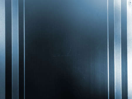 sandblasting: Vintage glass background, blue window with sandblasting, grainy surface