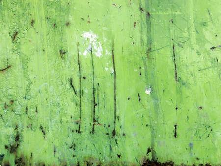 M�tal rouill� - surface granuleuse r�sist� � gratter