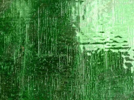 Verre, la texture en vert, la fen�tre avec surface granuleuse Banque d'images