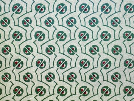 Vintage wallpaper, abstract grainy pattern, art nouveau