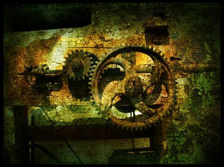 Grunge engins 3, granuleuse mill�sime historique Banque d'images