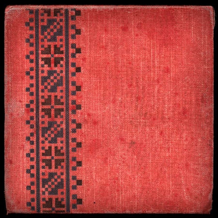 Vintage canvas cover with space for text or image photo