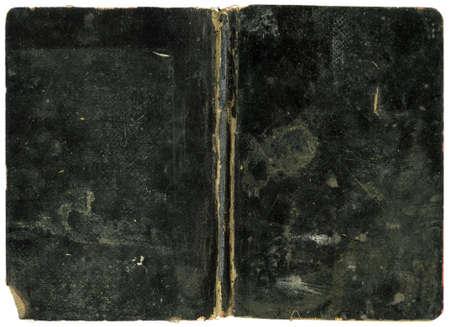 Vieux livre - couverture noire Grungy - XL taille