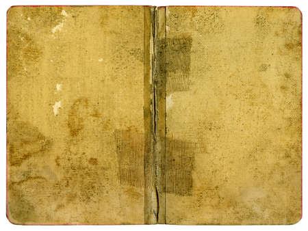 abstracto: Book Cover - Old Grungy Paper - XL Size Stock Photo