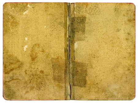 Livre � couverture - vieux papiers Grungy - XL taille Banque d'images
