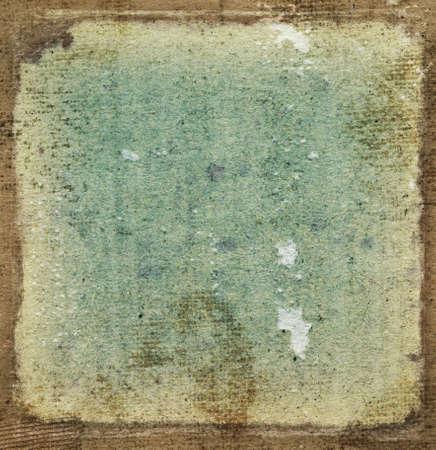 Vintage grunge frame - grainy surface photo