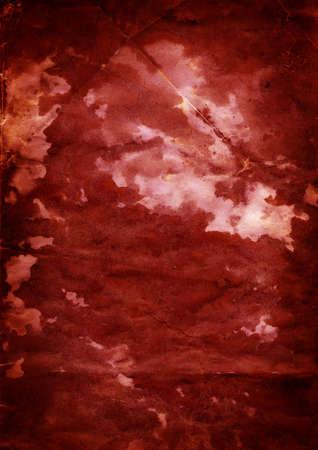 Grunge papier contexte - sang 1 - surface granuleuse chiffonn�