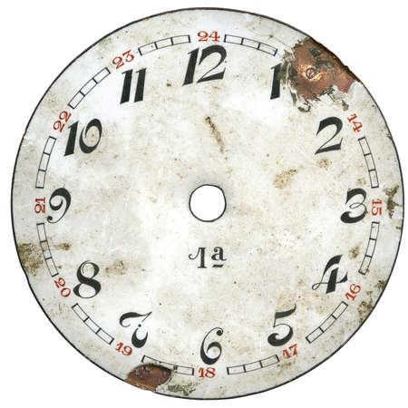 Montre de poche Vintage - dial seulement - isol� avec trac� de d�tourage