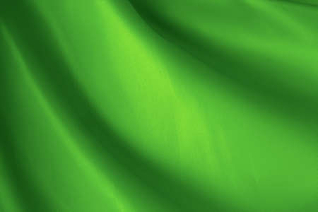 abstract background green cloth with folds