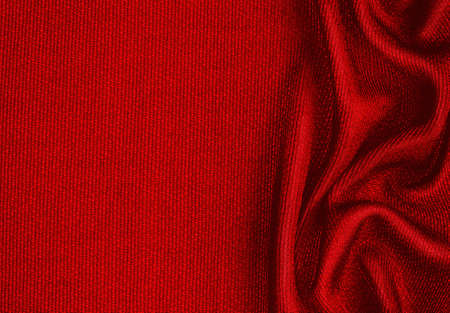 dark red: synthetic fabric dark red background