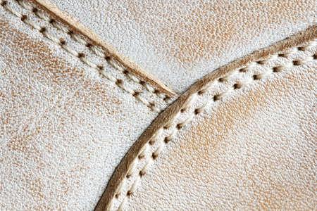 durable: double durable seam on  shoe detail closeup