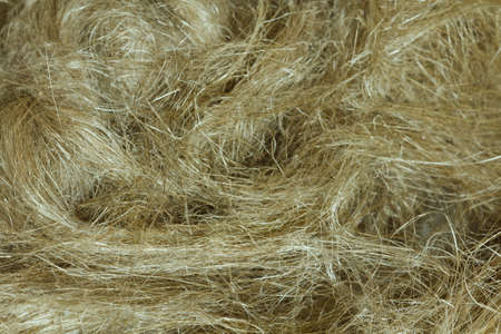 Raw flax fiber (used for construction and plumbing work)
