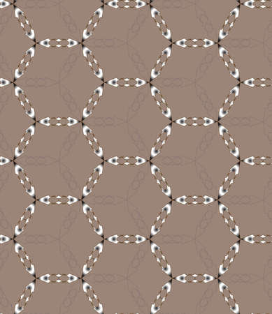 motley: seamless geometric pattern with motley rings