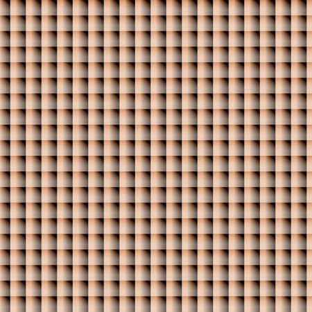 checkered volume: geometric  modern beige  seamless vector pattern