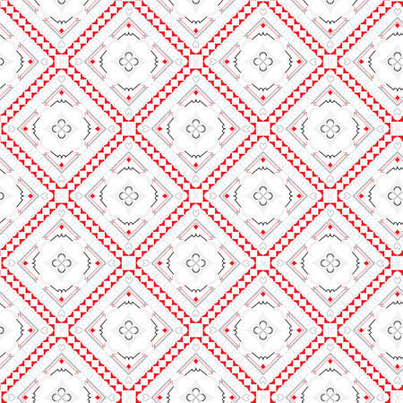 abstract: geometric abstract seamless vector light pattern Illustration