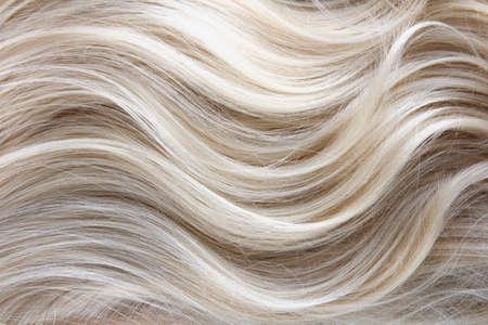 여성 금발 곱슬 머리 텍스처