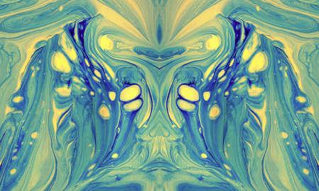 Sfondo astratto di vernici a colori casuale miscela Archivio Fotografico - 87209554