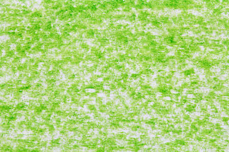 background of green pencil strokes Stock Photo