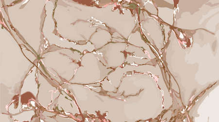 vector marble background in light brown tones