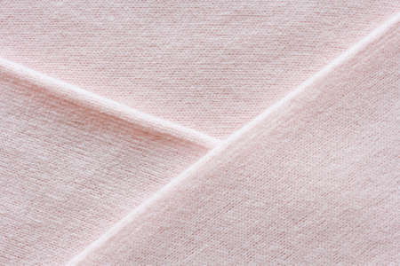delicate pink cashmere texture, knitted fabric macro