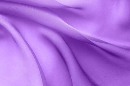 Violet fabric with large folds,  abstract  with diagonal waves Stock fotó