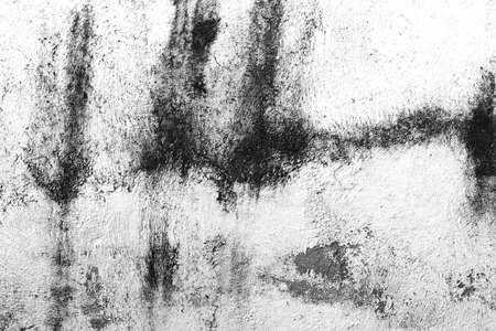 black and white dirty wall, rough grunge background