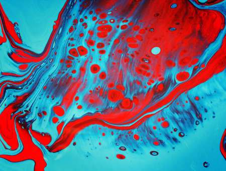 abstract blue and red background 免版税图像