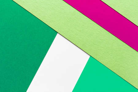 multicolor geometric background, bright composition of color paper