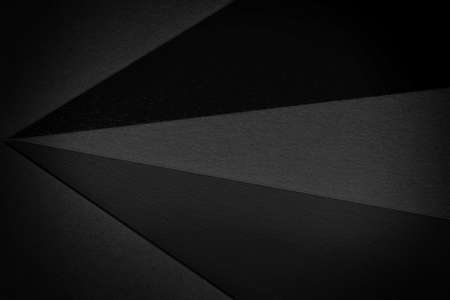 Abstract geometric black texture composition 免版税图像