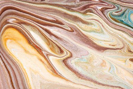 motley texture of a mix color paints