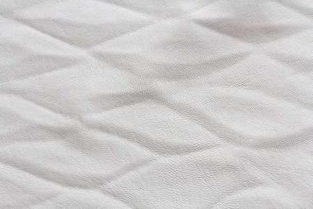 white artificial leather texture