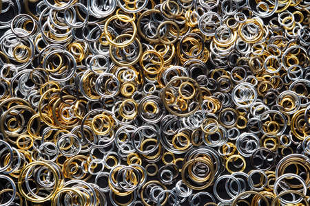 round metal links for jewelry making, connecting rings for chains