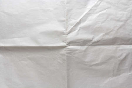 texture of white crumpled wrapping paper as background