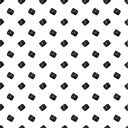 seamless simple white black pattern with rectangles imprint