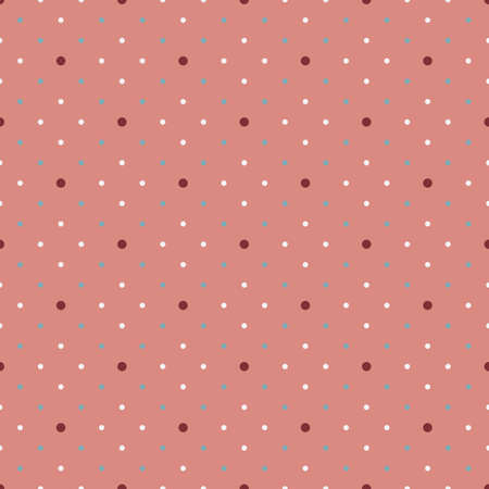 universal simple geometric seamless pattern with polka dot